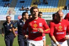 USAP contre Dax - rugby français du principal 14 Photos libres de droits