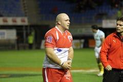 USAP contro Biarritz - rugby francese del principale 14 Fotografie Stock