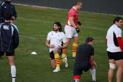 USAP training session Stock Images