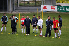 USAP training session Royalty Free Stock Photos