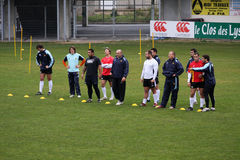 USAP training session Stock Image