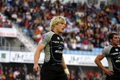 USAP versus Bayonne - Frans Hoogste Rugby 14 Stock Fotografie