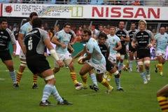 USAP versus Bayonne - Frans Hoogste Rugby 14 Royalty-vrije Stock Foto's