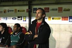 USAP versus Biarritz - Frans Hoogste Rugby 14 Royalty-vrije Stock Foto