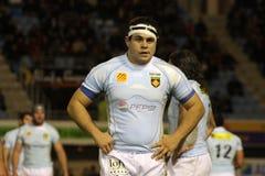 USAP versus Biarritz - Frans Hoogste Rugby 14 Royalty-vrije Stock Afbeeldingen