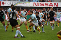 USAP vs Bayonne - French Top 14 Rugby Royalty Free Stock Photos