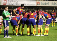 USAP vs Northampton Saints Royalty Free Stock Photos