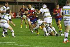 USAP vs Northampton Saints Stock Image
