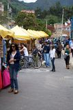 Usaquen Flea Market Stock Photo