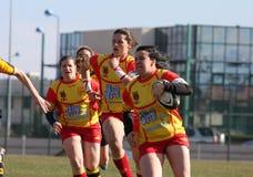 usat v de spai de rugby d'allumette de la France getxo Photo libre de droits