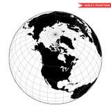 USAworld do espaço Fotografia de Stock