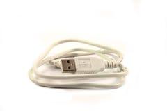 USB外延电缆 免版税库存照片
