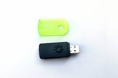 USB存储卡读者 免版税库存照片