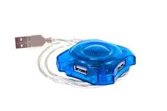 USB插孔 图库摄影