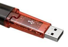 USB棍子特写镜头 库存照片