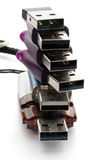USB闪光驱动器 库存照片