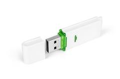 USB闪光驱动 免版税库存图片