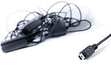 usb заряжателя миниый стоковое изображение