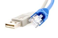 usb интернета кабеля Стоковые Изображения