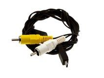 usb кабеля миниый Стоковая Фотография RF