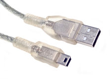 usb кабеля Стоковое фото RF