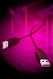 usb кабеля Иллюстрация штока