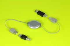 usb кабеля Стоковое Изображение