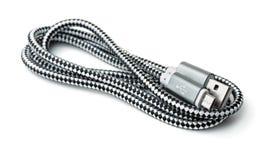 USB к микро- кабелю USB Стоковое фото RF