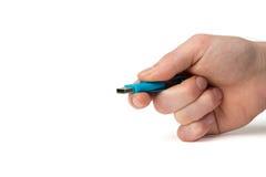 0 usb 3 0 ручек, изолированных на белизне Стоковое фото RF