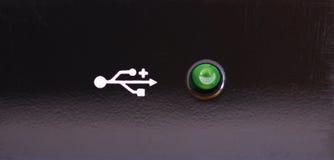 usb света проверки Стоковое фото RF