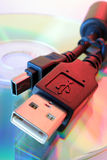 usb шнура Стоковое Фото