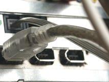 usb штепсельной вилки Стоковая Фотография