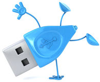 Usb. Key, 3d generated picture Royalty Free Stock Image