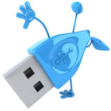 Usb. Key, 3d generated picture Stock Photo