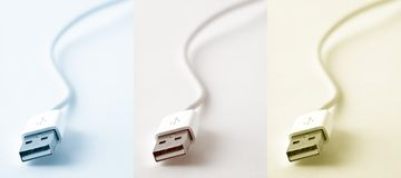 USB photo stock