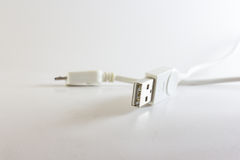 Usb. Device is connected to the computer Royalty Free Stock Photo