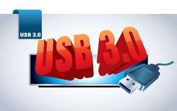 Usb 3.0 Stock Photography