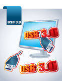 Usb 3.0 Stock Photos