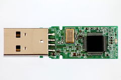 USB Imagen de archivo libre de regalías