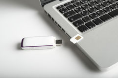 Usb 3g modem Royalty Free Stock Images