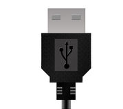USB. An USB Data Cable stock illustration