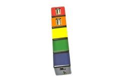 USB Aangesloten apparaten Stock Foto's