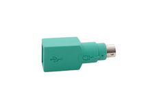 USB adapter Royalty Free Stock Image