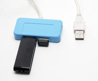 Usb adaptor Royalty Free Stock Photography