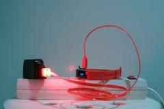 USB ładowarka zdjęcie royalty free