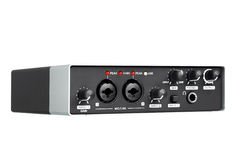 USB Audio interface, external sound card. Stock Photography