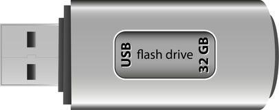 USB błysku przejażdżka Zdjęcia Royalty Free