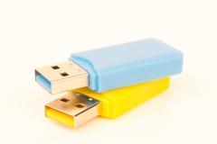 USB-bastoni Fotografie Stock Libere da Diritti