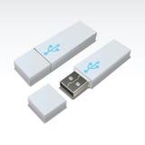 USB-Blinken-Laufwerk Stockbild