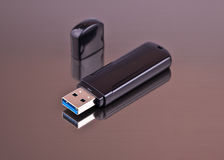 USB-Blinkenlaufwerk Lizenzfreies Stockfoto